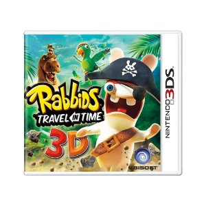 Jogo Rabbids Travel in Time 3D - 3DS