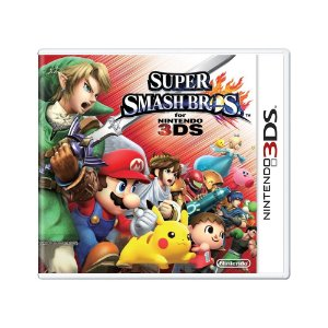 Jogo Super Smash Bros. for Nintendo 3DS - 3DS