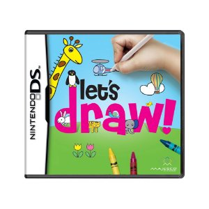 Jogo Let's Draw! - DS