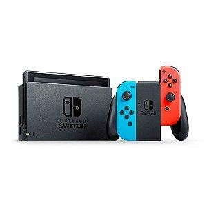 Console Nintendo Switch Azul/Vermelho Neon - Nintendo