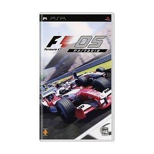 Jogo Formula 1 2005 Portable - PSP