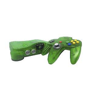 Console Nintendo 64 Verde Transparente - Nintendo