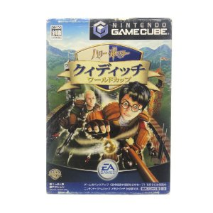 Jogo Harry Potter: Quidditch World Cup - GameCube (Japonês)