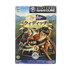 Jogo Harry Potter: Quidditch World Cup - GameCube (Japonês)