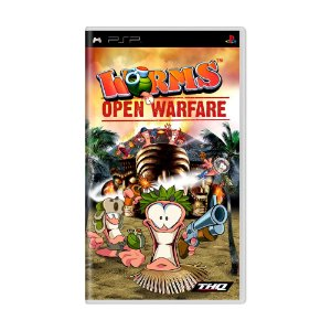 Jogo Worms: Open Warfare - PSP