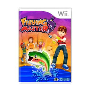 Jogo Fishing Master - Wii