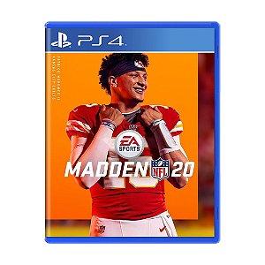 Jogo Madden NFL 20 - PS4