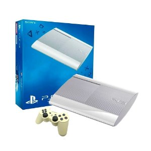 Console PlayStation 3 Super Slim 500GB Branco - Sony