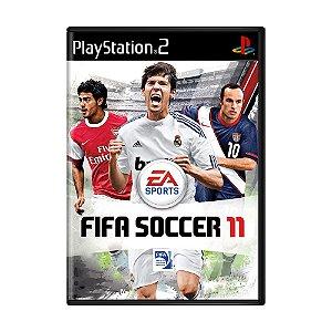 Jogo FIFA Soccer 11 - PS2