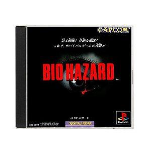 Jogo BioHazard - PS1 (Japonês)