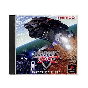 Jogo Xevious 3D/G+ - PS1 (Japonês)