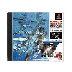 Jogo Strikers 1945 - PS1 (Japonês)