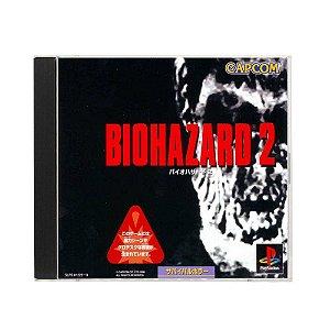 Jogo BioHazard 2 - PS1 (Japonês)
