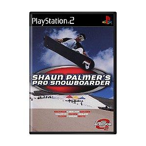 Jogo Shaun Palmer's Pro Snowboarder - PS2