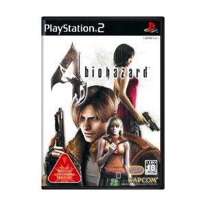 Jogo BioHazard 4 - PS2 (Japonês)