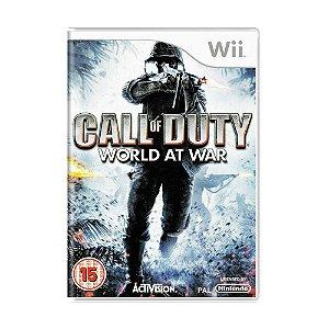 Jogo Call of Duty: World at War - Wii (Europeu)