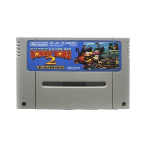 Jogo Donkey Kong Country 2: Diddy's Kong Quest - SNES (Japonês)