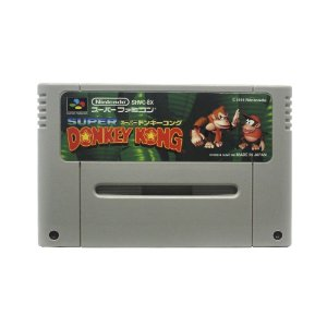Jogo Donkey Kong Country - SNES (Japonês)
