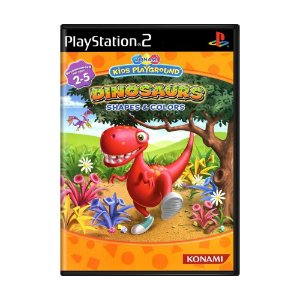 Jogo Konami Kids Playground: Dinosaurs Shapes & Colors - PS2