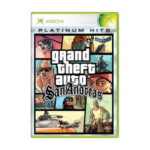 Jogo Grand Theft Auto: San Andreas - Xbox