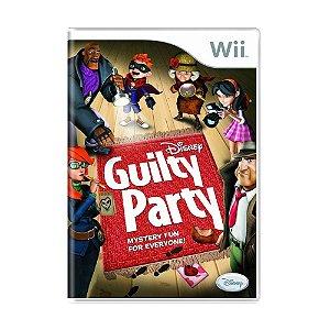 Jogo Disney Guilty Party - Wii