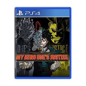 Jogo My Hero One's Justice - PS4