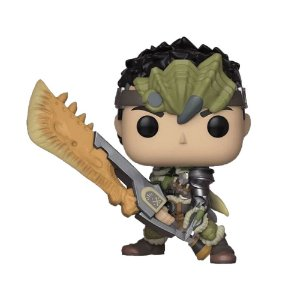 Boneco Hunter 296 Monster Hunter - Funko Pop