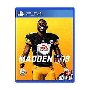 Jogo Madden NFL 19 - PS4