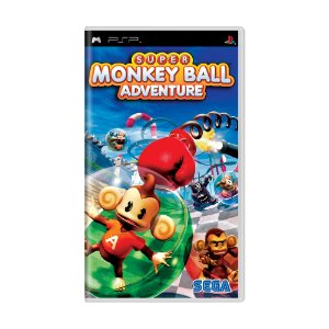 Jogo Super Monkey Ball Adventure - PSP