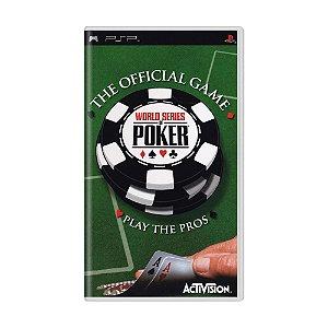 Jogo World Series of Poker - PSP