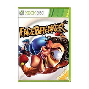 Jogo FaceBreaker - Xbox 360