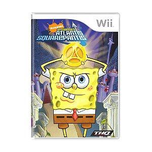Jogo SpongeBob's Atlantis SquarePantis - Wii