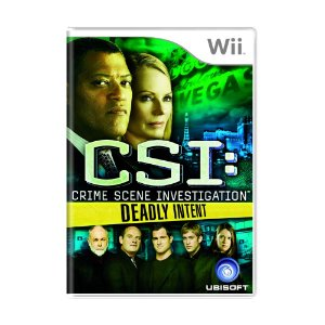 Jogo CSI: Deadly Intent - Wii