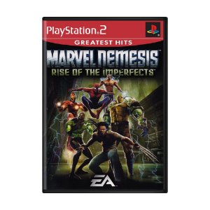 Jogo Marvel Nemesis: Rise of the Imperfects - PS2