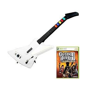 Jogo Guitar Hero III: Legends of Rock + Guitarra - Xbox 360