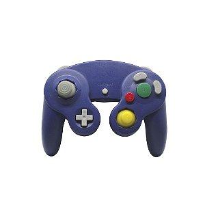 Controle GameCube Roxo Paralelo com fio - Nintendo