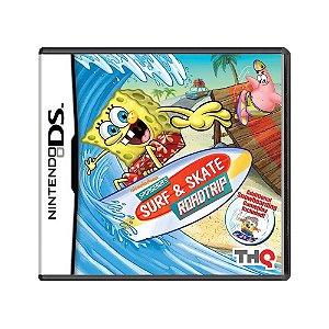 Jogo SpongeBob's Surf & Skate Roadtrip - DS
