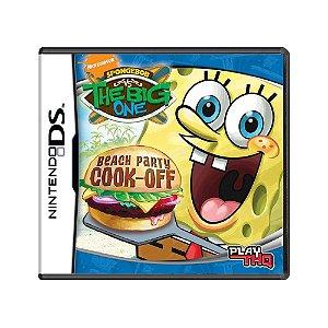 Jogo SpongeBob vs. The Big One: Beach Party Cook-Off - DS