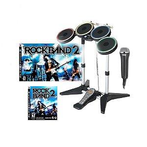 Jogo Rock Band 2 (Bundle) - PS3