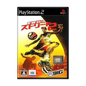 Jogo FIFA Street 2 - PS2 (Japonês)