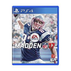 Jogo Madden NFL 17 - PS4