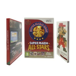 Jogo Super Mario All-Stars (Limited Edition) - Wii (Europeu)