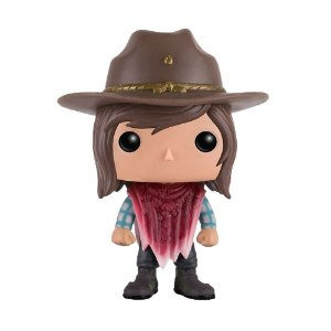 Boneco Carl Grimes 388 The Walking Dead - Funko Pop