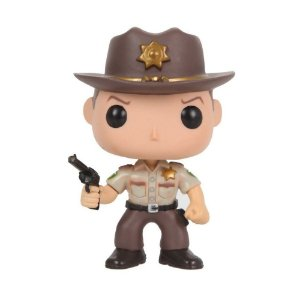 Boneco Rick Grimes 13 The Walking Dead - Funko Pop