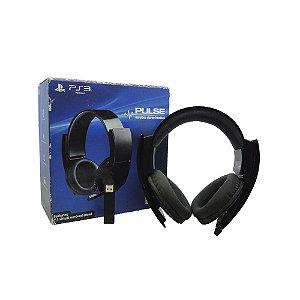 Headset Sony Pulse 7.1 sem fio - PS3, PS4 e PC