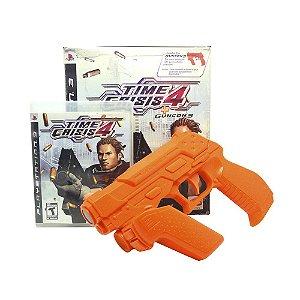 Jogo Time Crisis 4 + Guncon - PS3