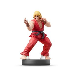 Nintendo Amiibo: Ken - Super Smash Bros - Wii U e New Nintendo 3DS