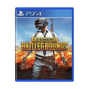 Jogo PlayerUnknown's Battlegrounds - PS4