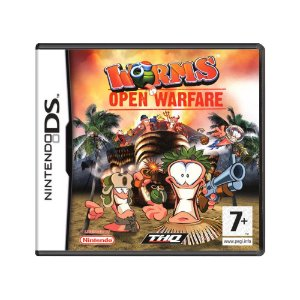 Jogo Worms: Open Warfare - DS (Europeu)