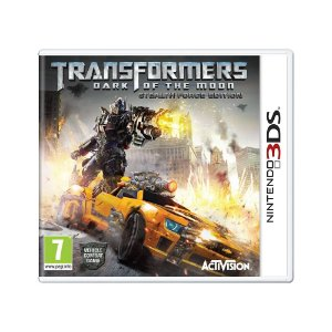 Jogo Transformers: Dark of the Moon (Stealth Force Edition) - 3DS (Europeu)